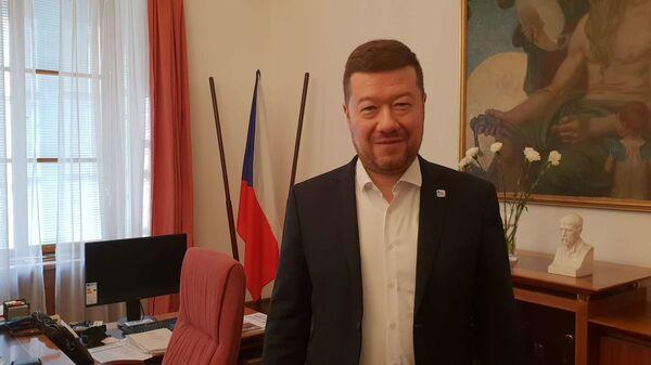 Předseda hnutí SPD Tomio Okamura - Sputnik Česká republika