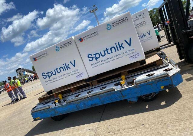 Ruská vakcína Sputnik V dorazila do Buenos Aires. Ilustrační foto