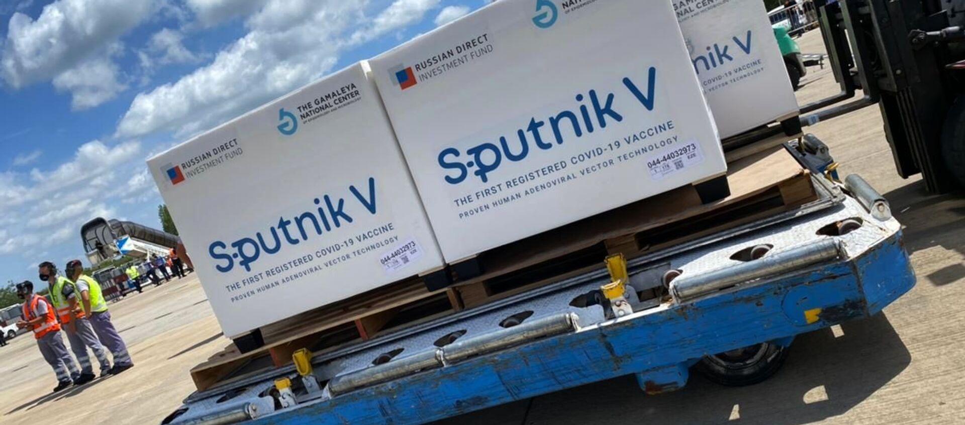 Ruská vakcína Sputnik V dorazila do Buenos Aires - Sputnik Česká republika, 1920, 17.02.2021