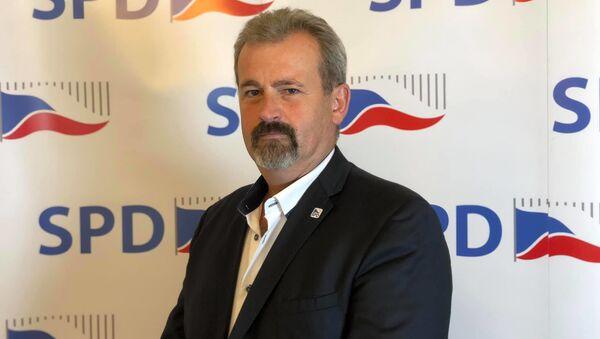 Poslanec hnutí SPD Jiří Kohoutek - Sputnik Česká republika