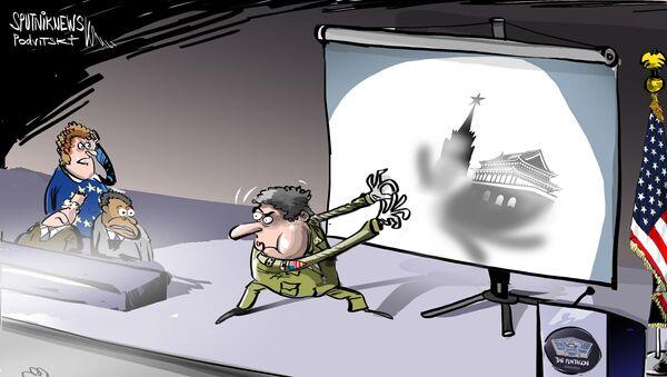 Pentagon nedokázal vysvětlit, v čem spočívá nebezpečí Ruska pro NATO - Sputnik Česká republika