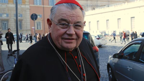 Kardinál Duka - Sputnik Česká republika