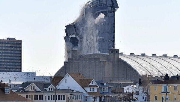 Exploze v Trump Plaza Hotel and Casino v Atlantic City - Sputnik Česká republika