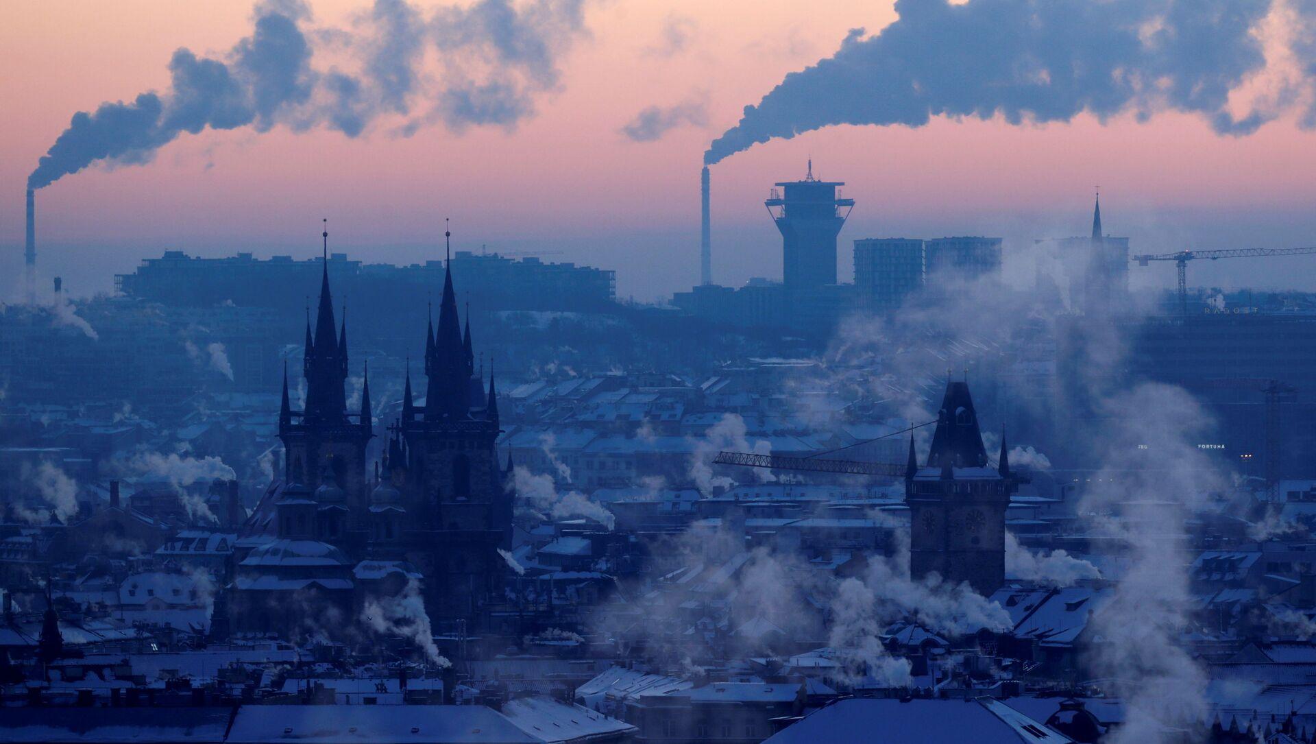 Pohled na zimní Prahu, 2021 - Sputnik Česká republika, 1920, 18.02.2021