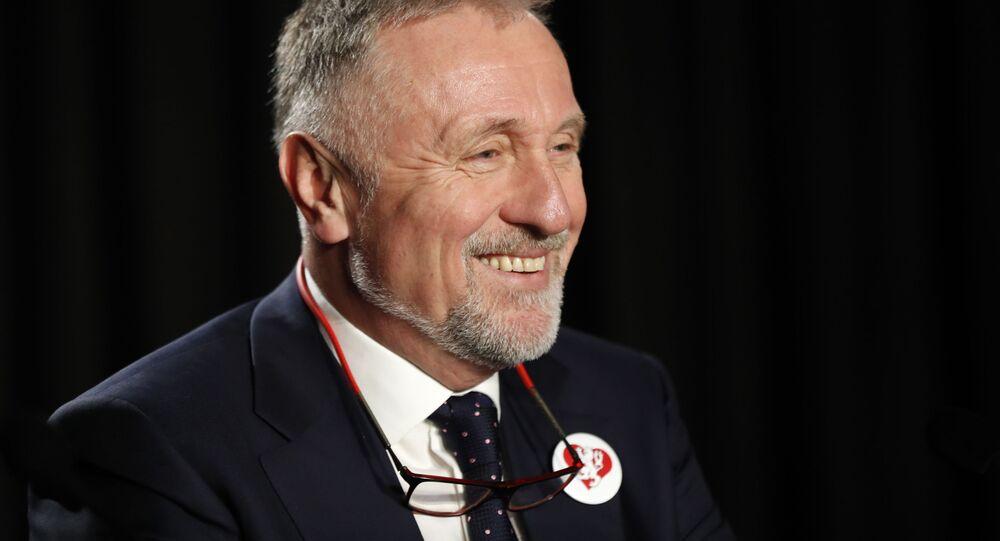 Bývalý předseda vlády ČR Mirek Topolánek
