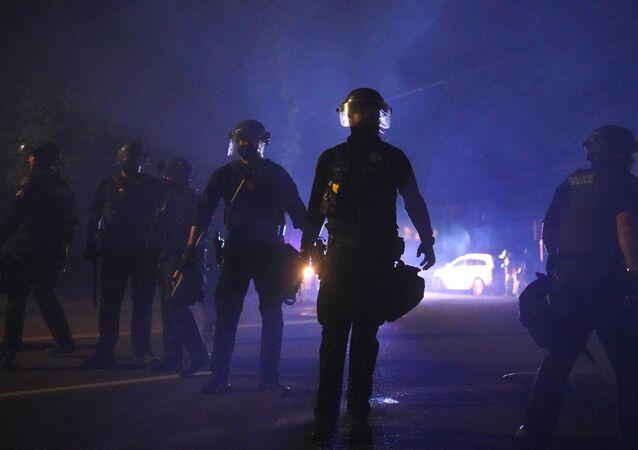 Policie v Portlandu