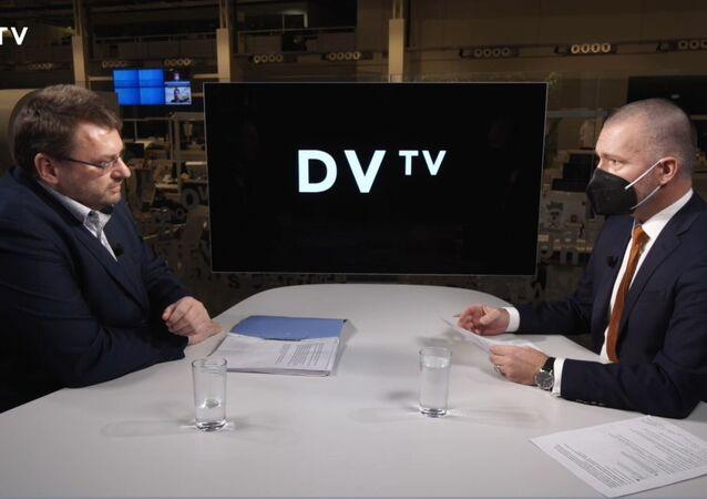 Rozhovor Volného a Veselovského. DVTV