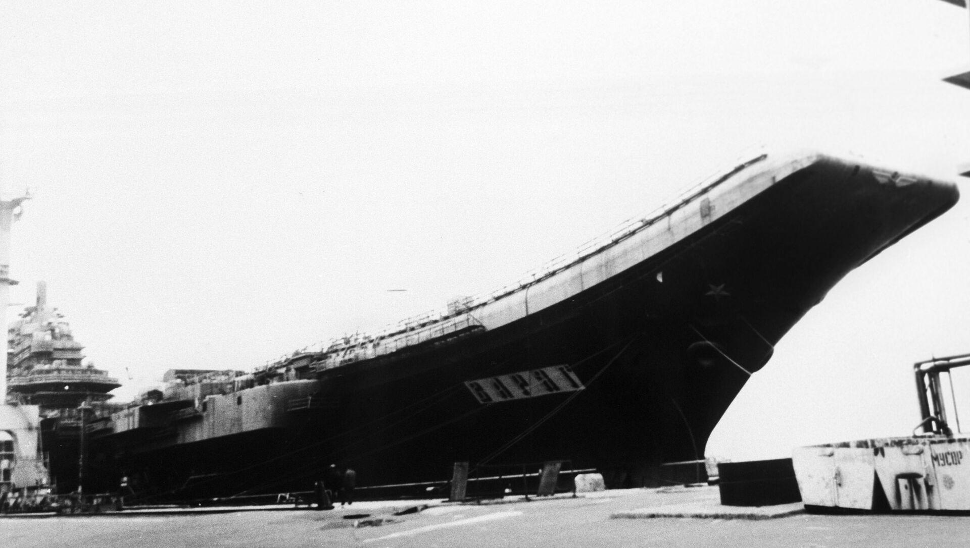 Letadlová loď Varyag - Sputnik Česká republika, 1920, 20.04.2021