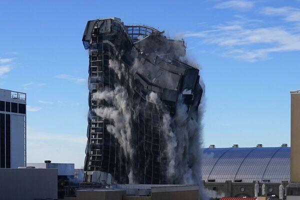 Demolice budovy Trumpova kasina v Atlantic City  - Sputnik Česká republika