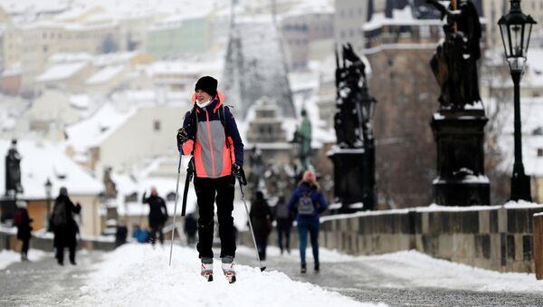 Pohled na zimní Prahu - Sputnik Česká republika
