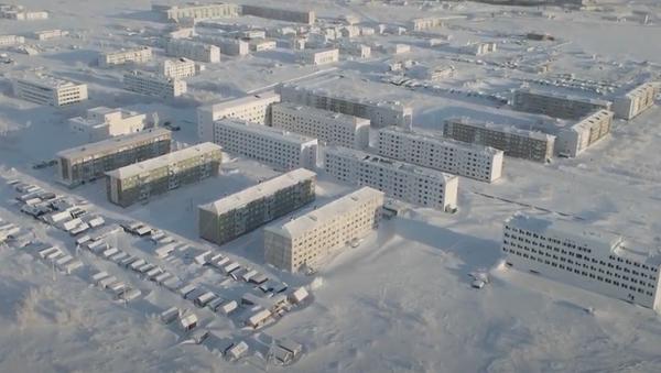 Opuštěné obce za severním polárním kruhem byly natočeny z ptačí perspektivy - Sputnik Česká republika