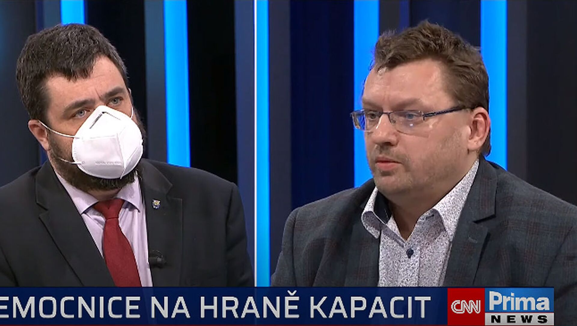 Pavel Novotný a Lubomír Volný. Pořad 360° na CNN Prima News - Sputnik Česká republika, 1920, 23.02.2021