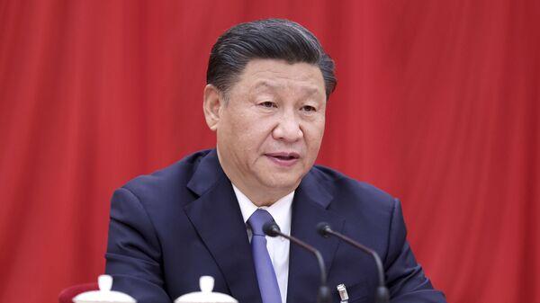Prezident Číny Si Ťin-pching - Sputnik Česká republika
