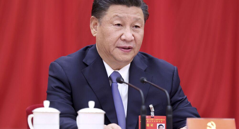 Prezident Číny Si Ťin-pching