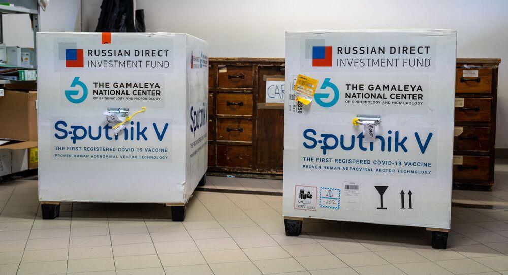Dodávky Sputniku V