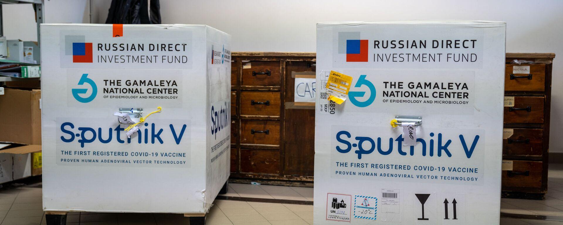 La prima fornitura del vaccino russo Sputnik V a San Marino - Sputnik Česká republika, 1920, 30.05.2021