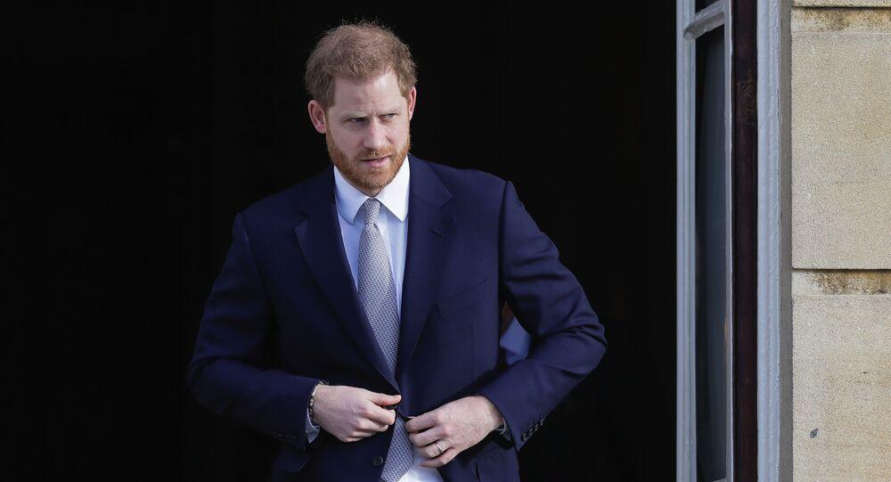 Princ Harry v Londýně