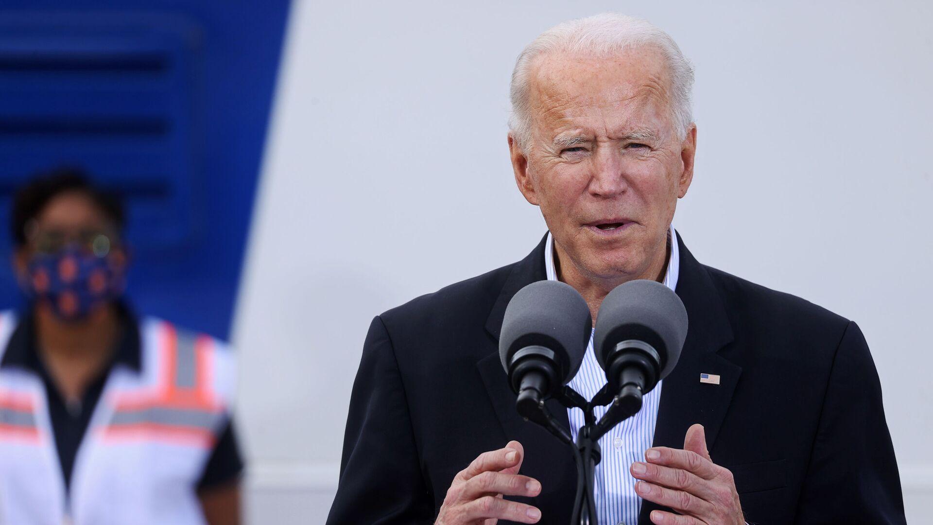Americký prezident Joe Biden. - Sputnik Česká republika, 1920, 13.03.2021