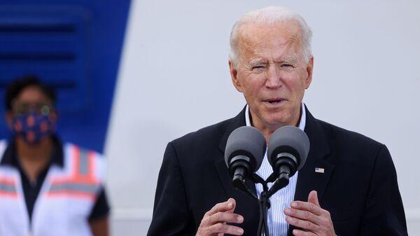 Americký prezident Joe Biden. - Sputnik Česká republika