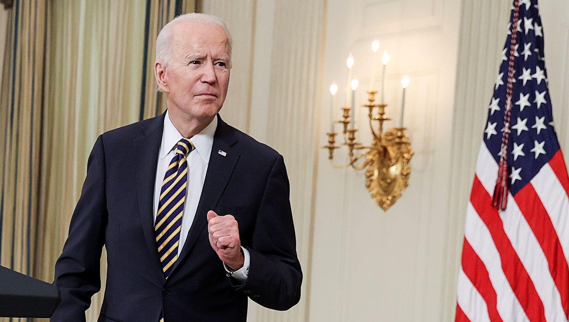 Americký prezident Joe Biden - Sputnik Česká republika, 1920, 19.03.2021