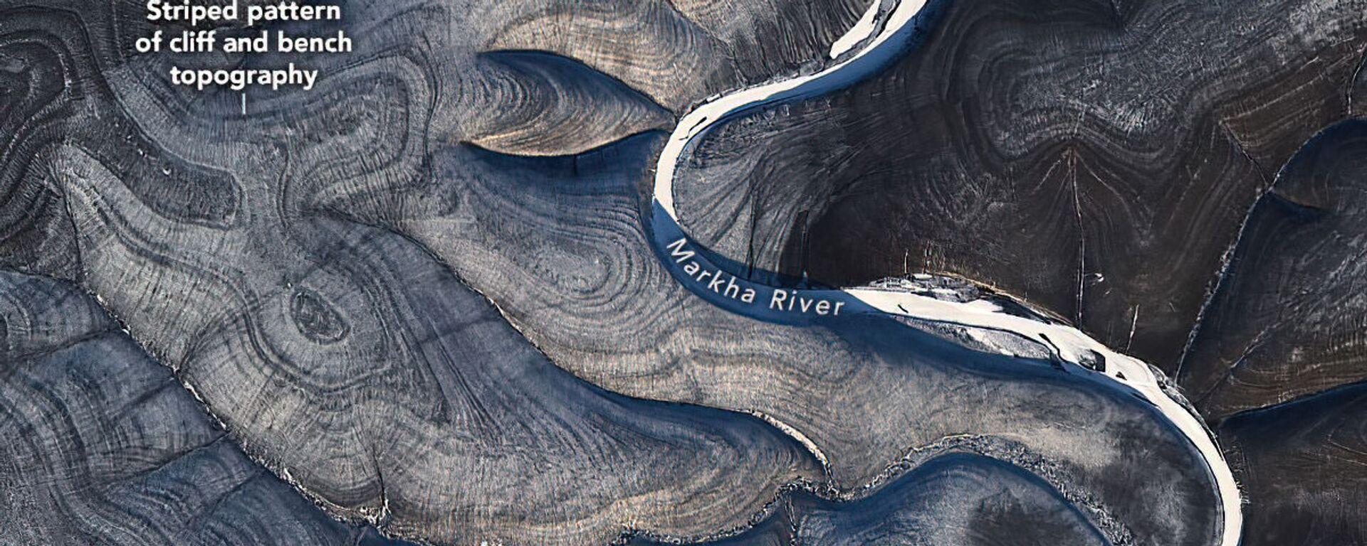 NASA je ohromena záhadnými pruhy, které na satelitních obrázcích tvoří ruskou arktickou Sibiř - Sputnik Česká republika, 1920, 27.02.2021