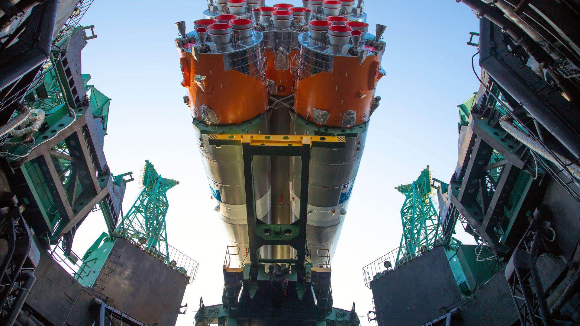 Sojuz-2.1b s první družicí Arktika-M  - Sputnik Česká republika, 1920, 16.08.2021