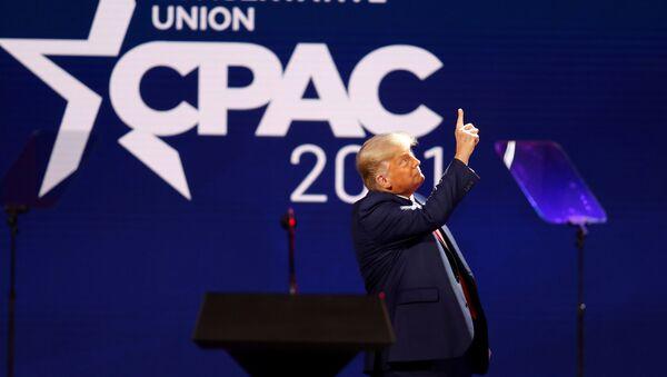 Bývalý americký prezident Donald Trump - Sputnik Česká republika