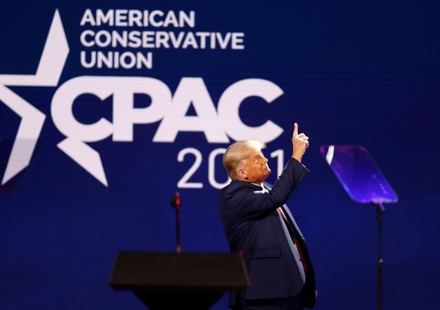 Bývalý americký prezident Donald Trump