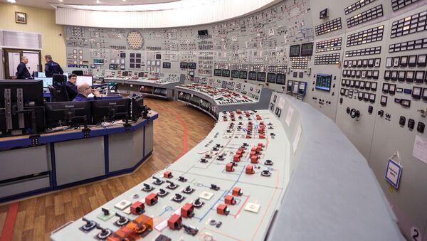 Ovládací panel bloku JE, ilustrační foto - Sputnik Česká republika