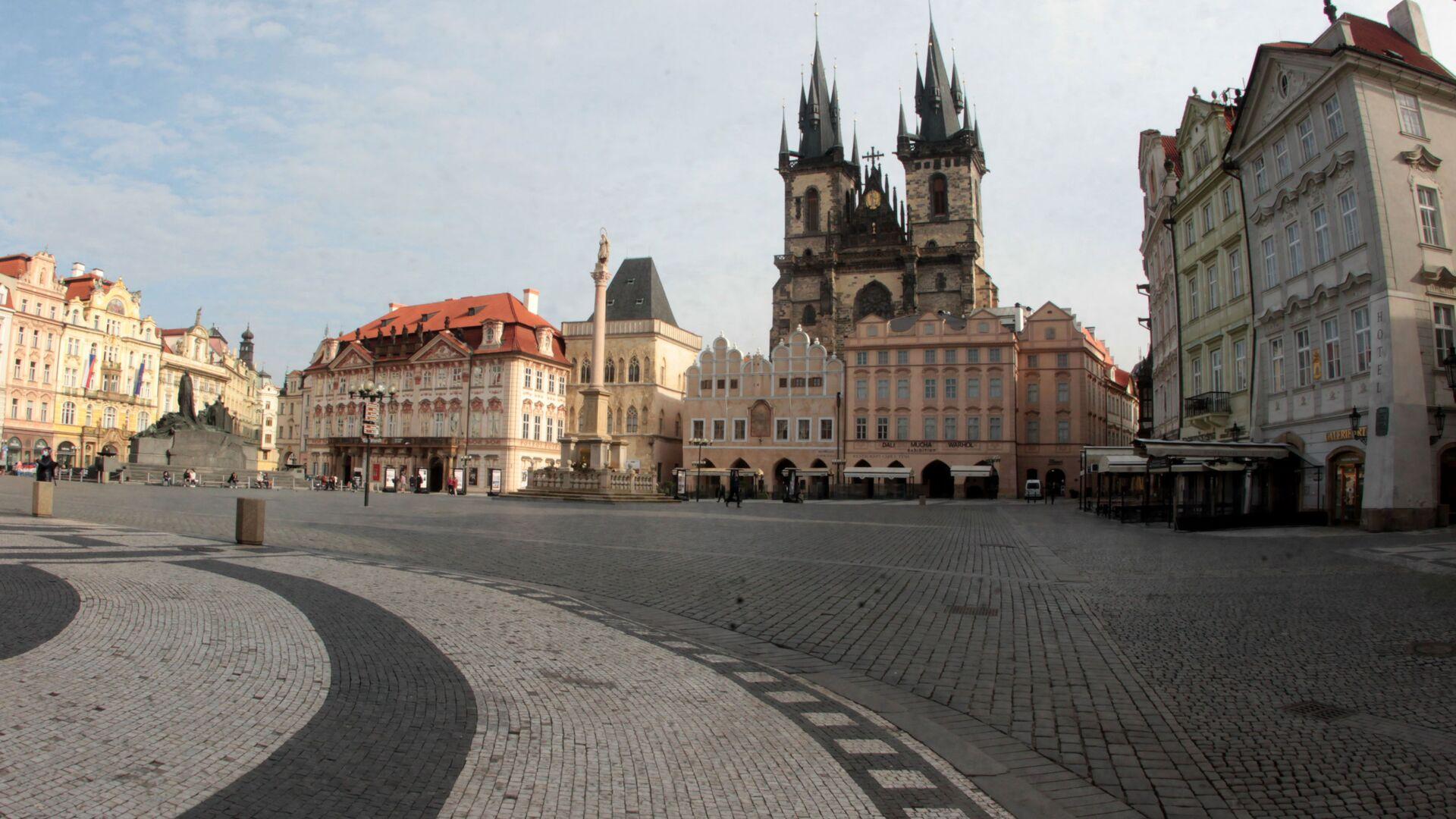 Staroměstské náměstí - Sputnik Česká republika, 1920, 08.07.2021