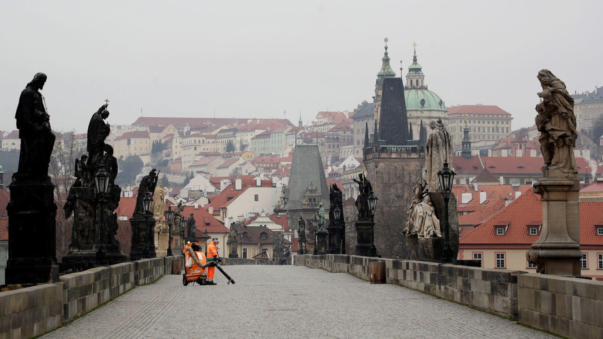 Praha, Karlův most - Sputnik Česká republika, 1920, 07.03.2021