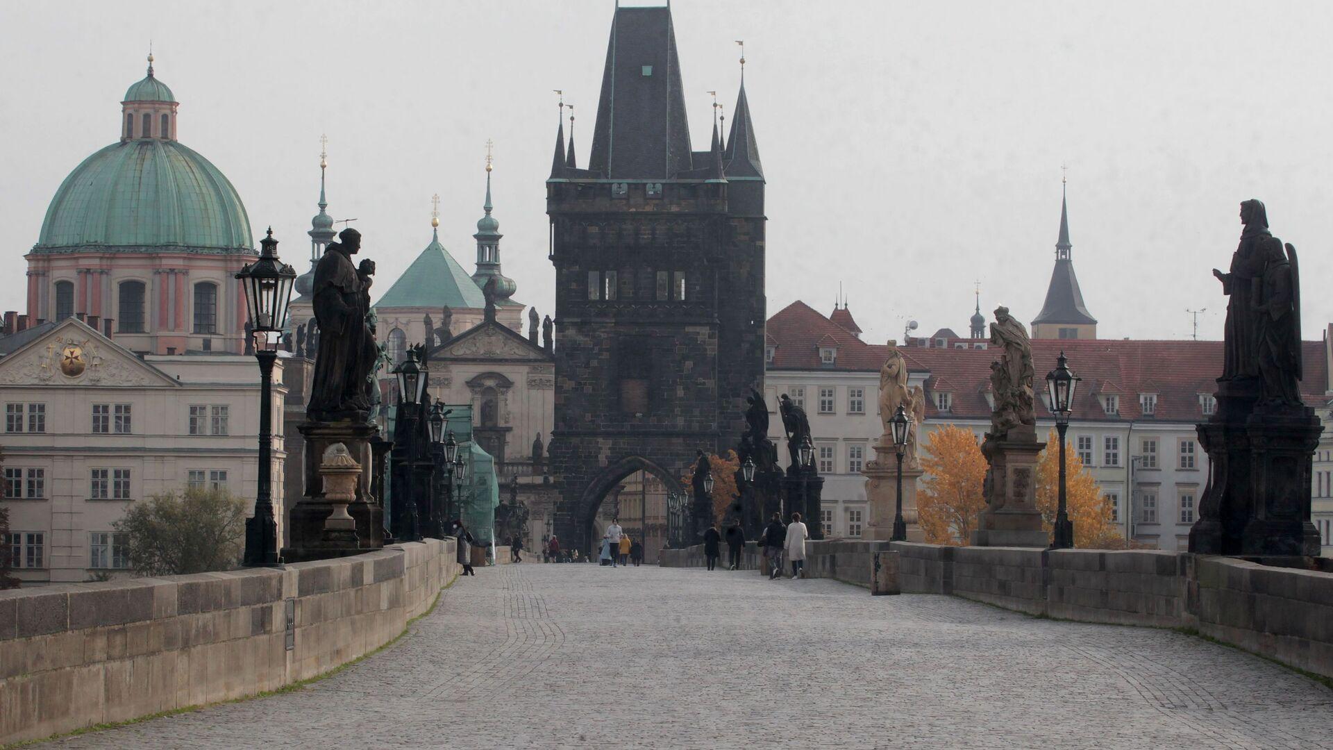Praha, Karlův most - Sputnik Česká republika, 1920, 09.03.2021