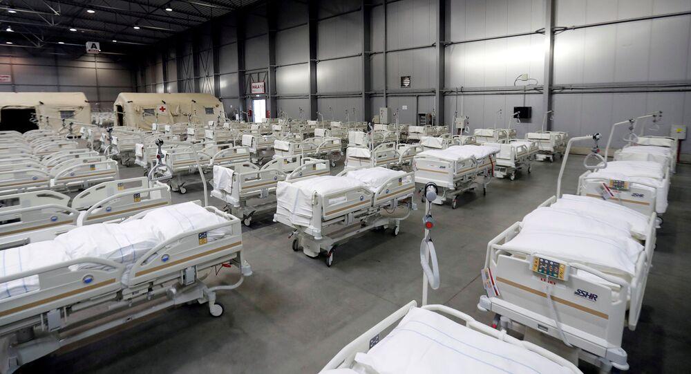Polní nemocnicí v Letňanech
