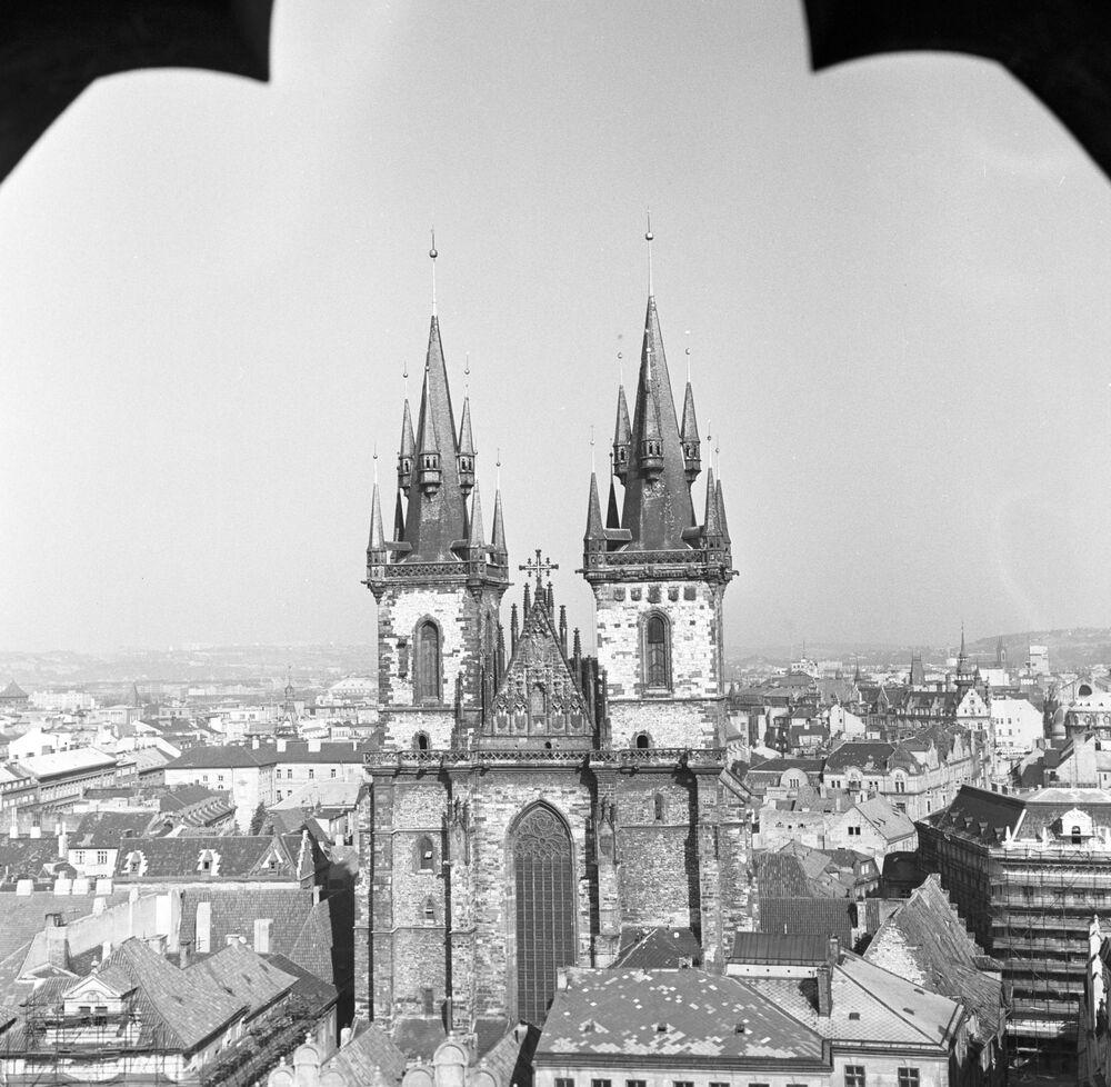 Pohled na starou Prahu, 1968