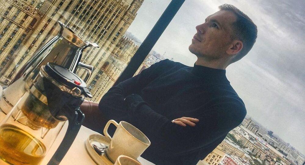 Ruský novinář Edvard Česnokov