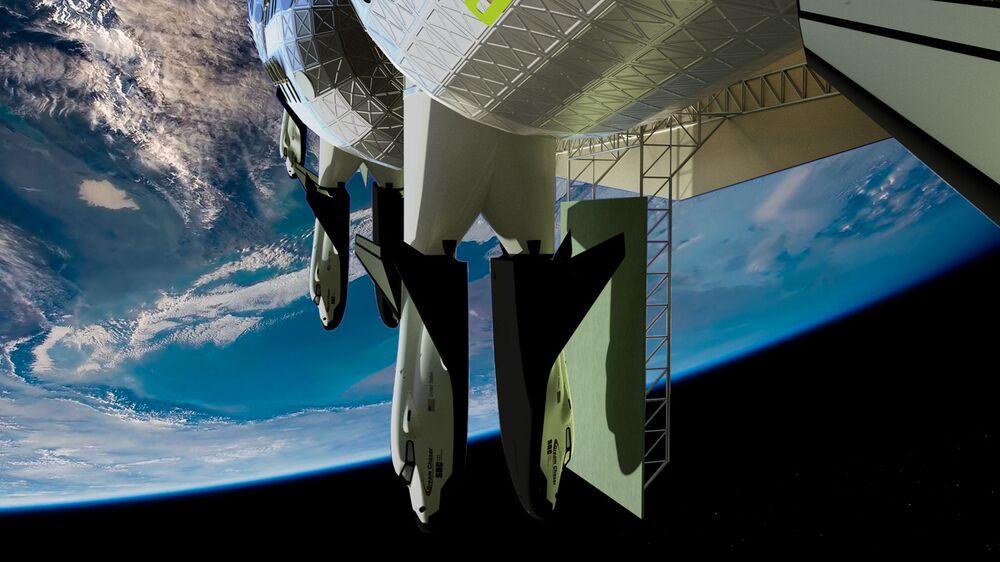 Vesmírný hotel Voyager Station bude vybaven evakuačním transportem