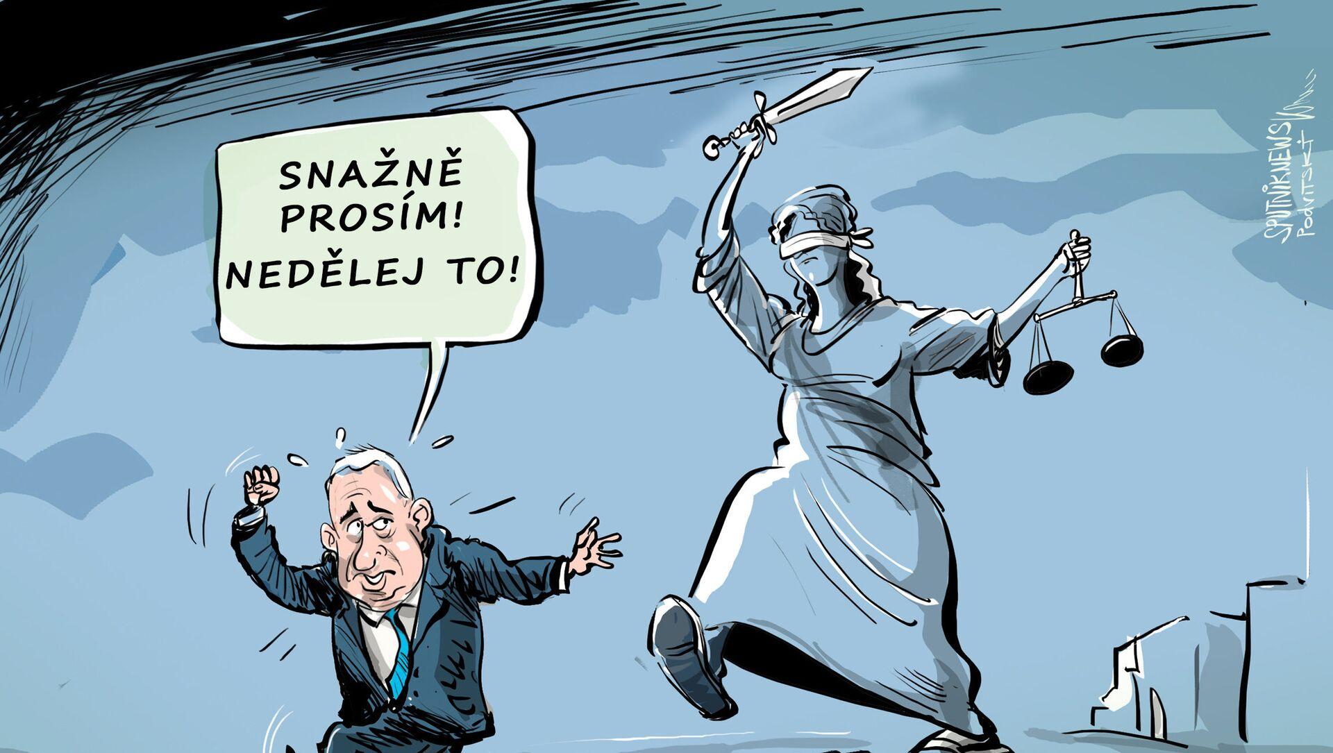 Haagský soud nenechává Netanjahua na pokoji - Sputnik Česká republika, 1920, 04.03.2021