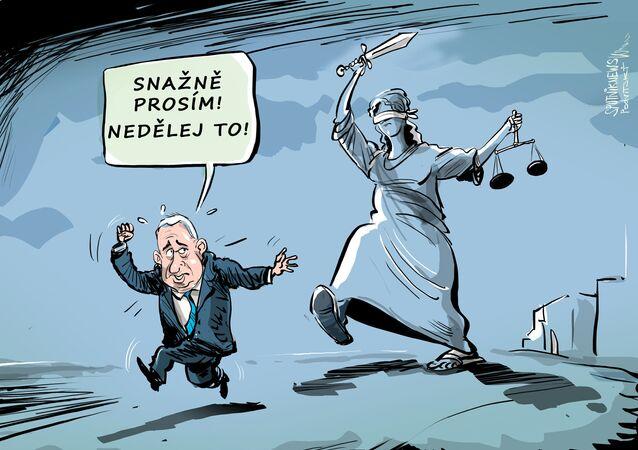 Haagský soud nenechává Netanjahua na pokoji