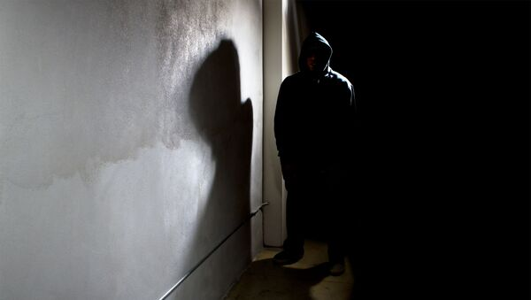Zlověstný cizinec v temné uličce - Sputnik Česká republika