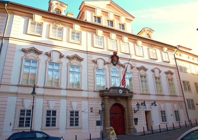 Velvyslanectví USA v Praze
