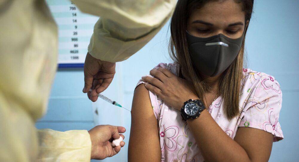 Očkování vakcínou Sputnik V ve Venezuele
