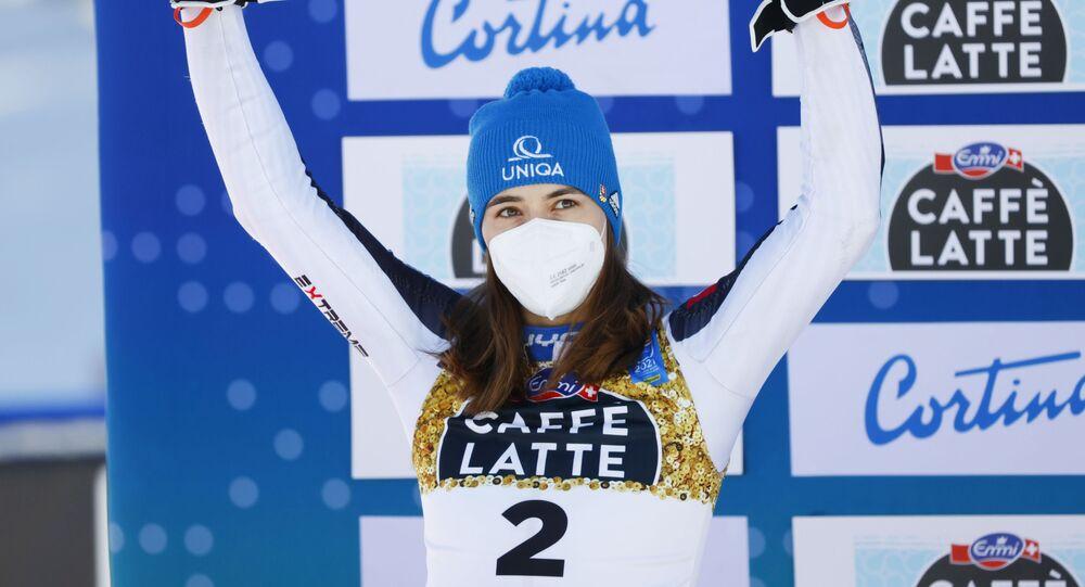 Slovenská reprezentantka v alpském lyžování Petra Vlhová