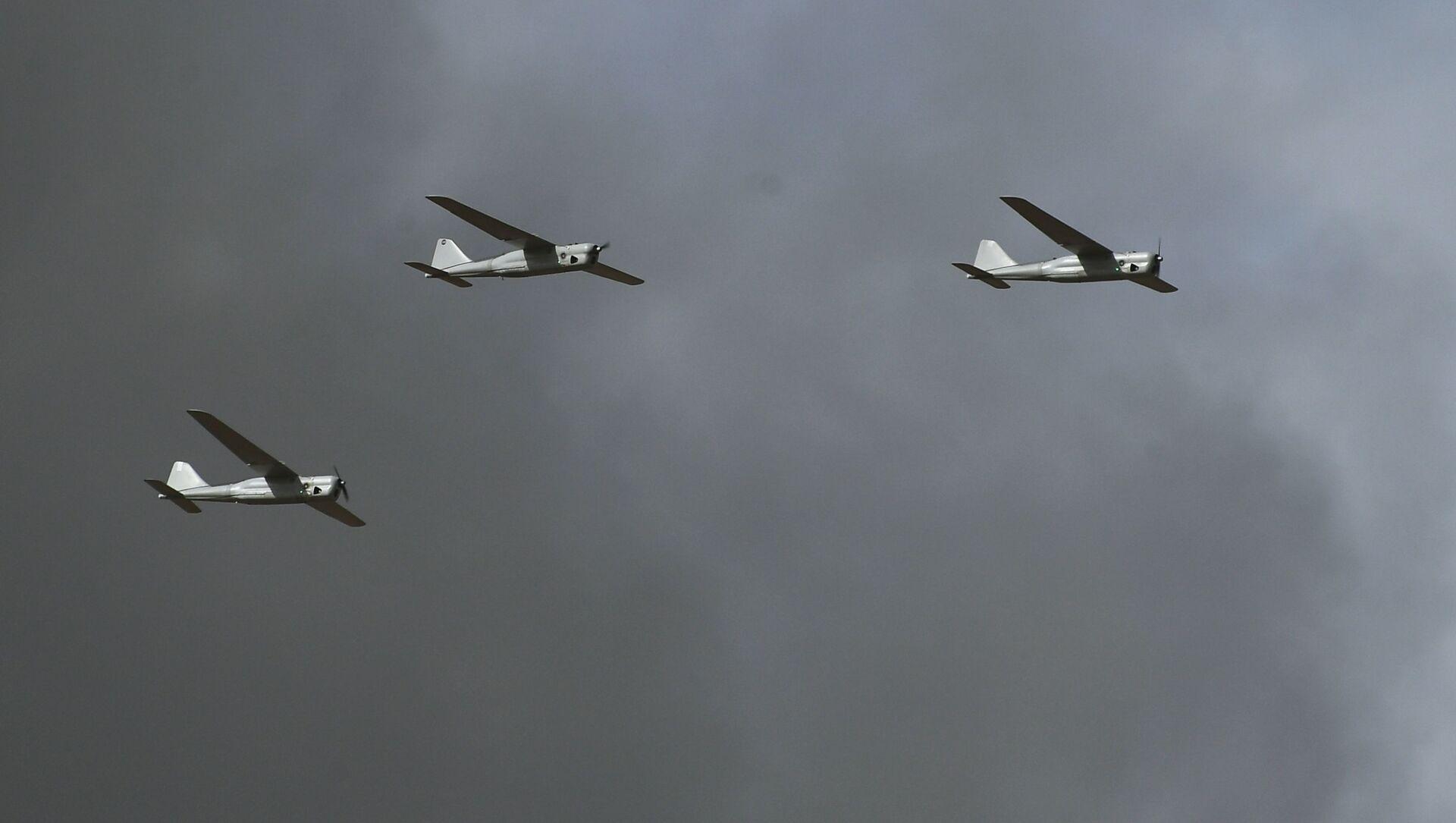 Bezpilotní letouny během cvičení Kavkaz-2020 - Sputnik Česká republika, 1920, 07.03.2021