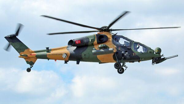 Turecký vrtulník T129 ATAK - Sputnik Česká republika