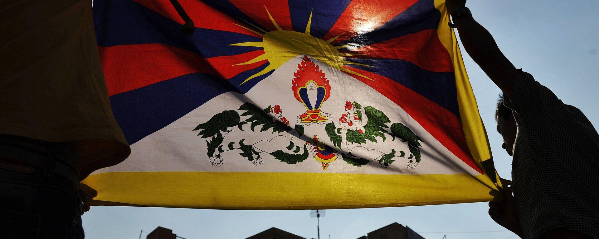 Tibetská vlajka - Sputnik Česká republika, 1920, 14.05.2021