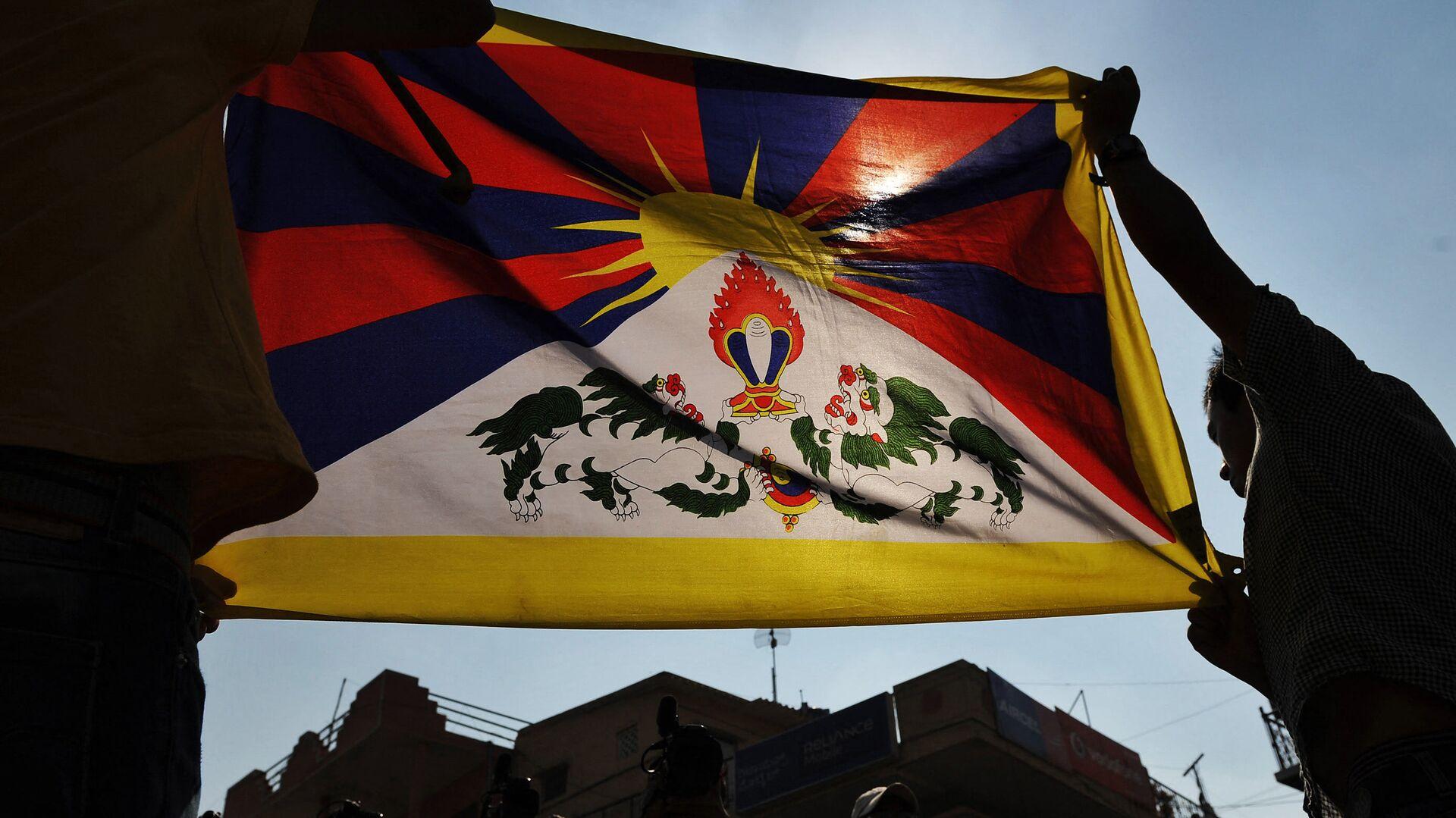 Tibetská vlajka - Sputnik Česká republika, 1920, 10.03.2021