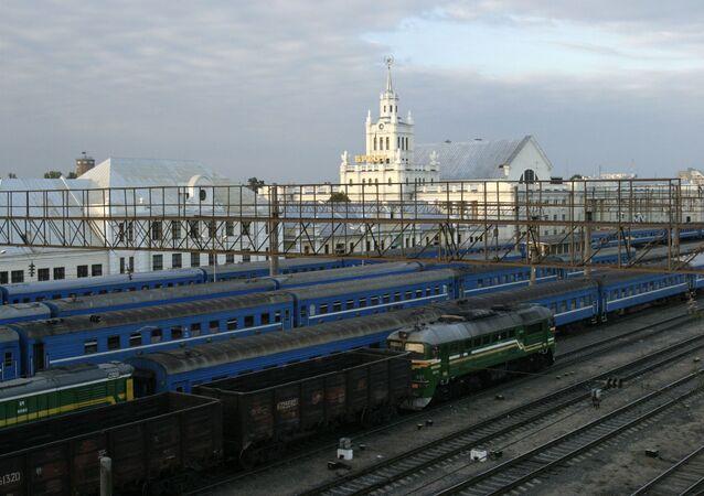 Nádraží v Brestu