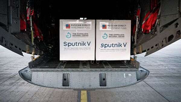 Dodávka ruské vakcíny Sputnik V na Slovensko - Sputnik Česká republika