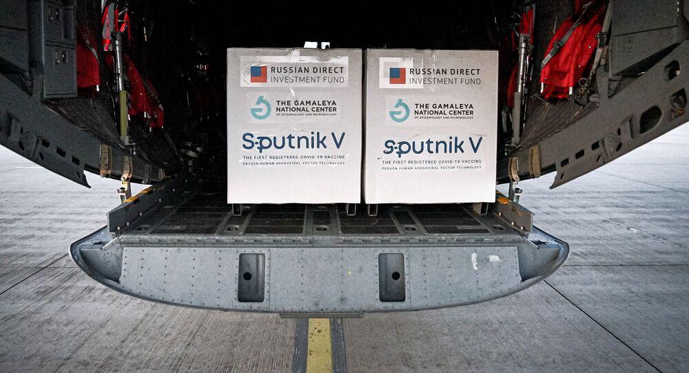 Dodávka ruské vakcíny Sputnik V na Slovensko