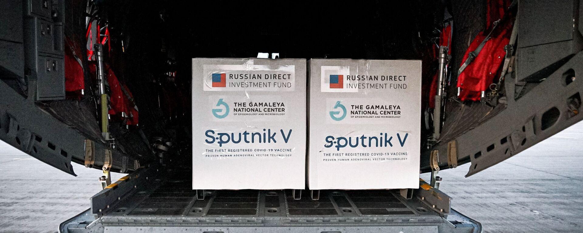 Dodávka ruské vakcíny Sputnik V na Slovensko - Sputnik Česká republika, 1920, 20.05.2021